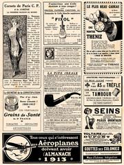 Page de pub vers 1913
