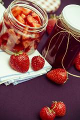 Strawberries and Jars