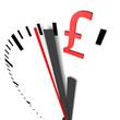 money, time, clock, pound,