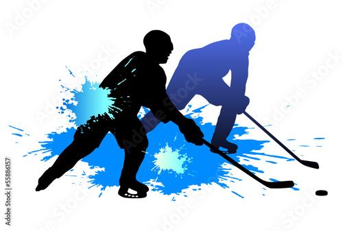 Fototapeta Eishockey - 4