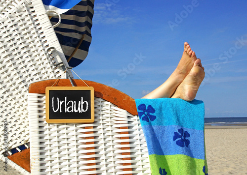 canvas print picture Urlaub am Meer