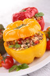 stuffed bell pepper with meat