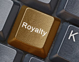 Key for royalty poster