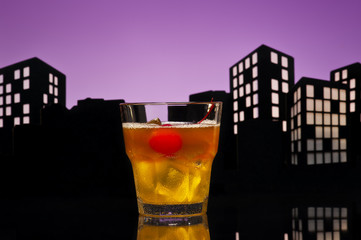 Metropolis Mai Tai cocktail