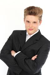 dynamischer, junger Geschäftsmann