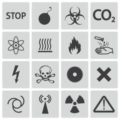 icons hazard