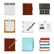 blank document vector icon set