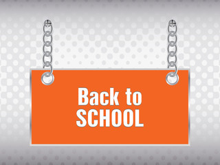 back to school background with special design