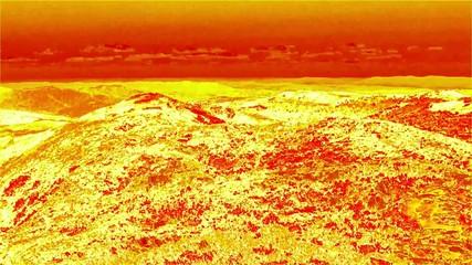 Krajobraz na słońcu