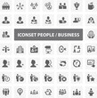 Website Iconset - People Business 44 Basic Icons