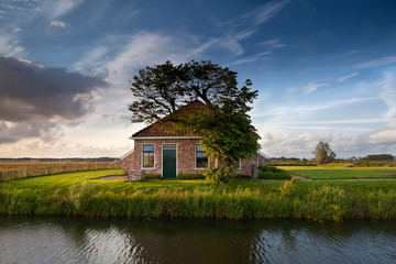charming farmhouse by river