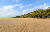 Sri Lanka. Negombo. The coastline of beautiful beaches