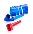 whistles and curling paper for party