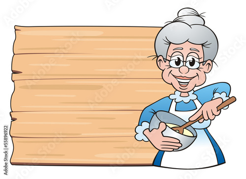 Leinwandbild Motiv Grandma's Board