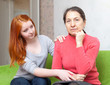 Teen tries reconcile with her mother