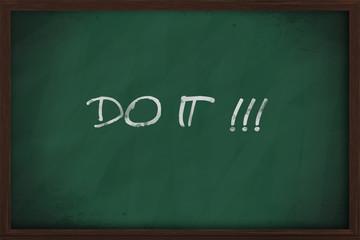 Do it phrase