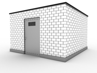 The prison of white bricks #3