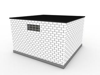 The prison of white bricks #1