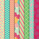 Vector Collection of Bright and Colorful Backgrounds