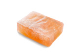 Piece of orange soap