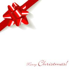 Geschenk Schleife Schmuckband Weiß Rot