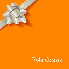 Frohe Ostern Gelb