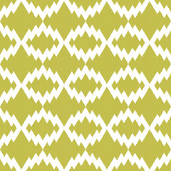 Ikat zigzag seamless pattern for web design or home decor