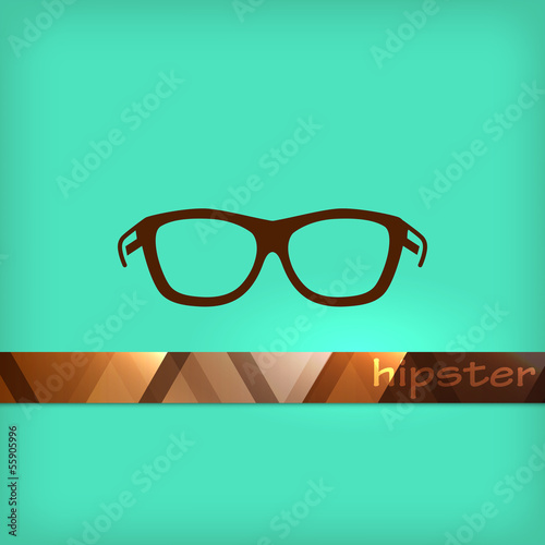 illustration with eyeglasses