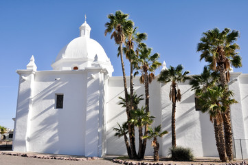 Immaculate Conception Church, Ajo, Arizona (USA)