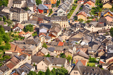 Rooftops and houses from Vianden