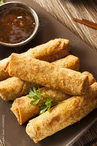 Homemade Chinese Vegetable EggRolls