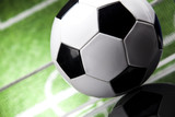 Soccer ball detail