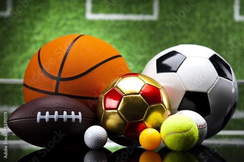 Fototapeta Sport balls