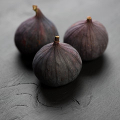 Still life fruits: figs, close-up