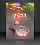 Fototapety Vector Christmas Flyer Magazine Cover & Poster Template.