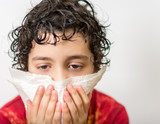 Hispanic Child with a Cold or Flu