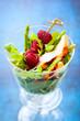 chicken and raspberry salad