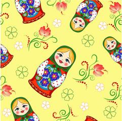 Seamless Russian doll