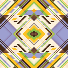 Colorful geometric abstraction.