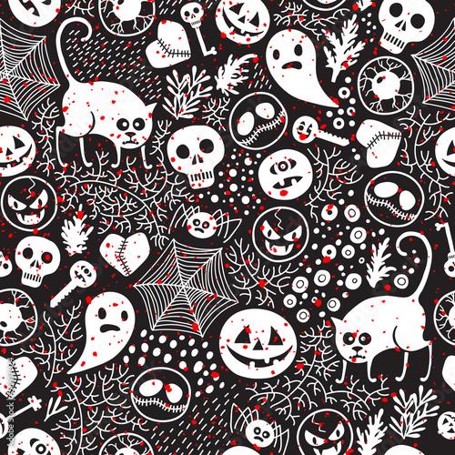 Materiał do szycia Happy Halloween!