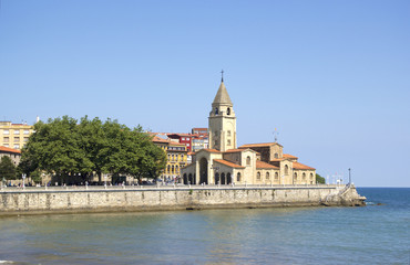 Church of San Pedro in Gijon