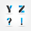 YZ blue