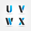 UVWX blue