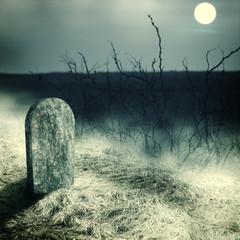 gravestone  on old  cemetery