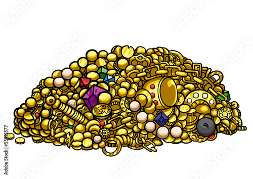 Gold treasure