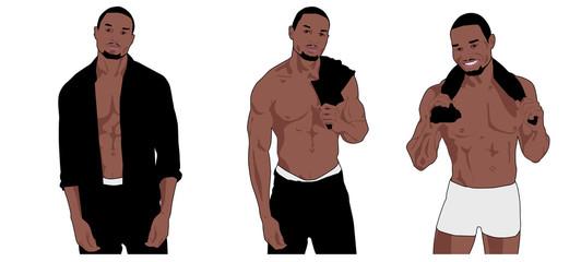 Black Boy Striptease