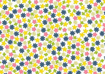 kolorowe kwiaty - tło