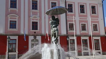 fountain square Tartu Estonia