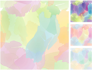 Seamless watercolors. Vector.