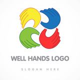 well hands logo